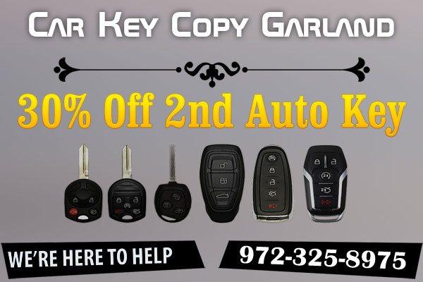 Car Key Copy Garland TX Coupon